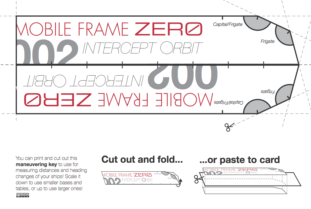 Mobile Frame Zero 002: Intercept Orbit Maneuver Key